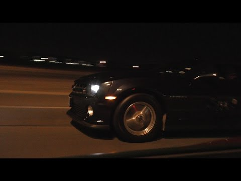 730hp supercharged Camaro vs 570hp supercharged Corvette