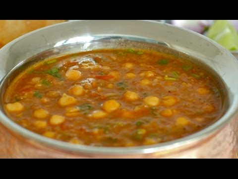 Punjabi Chole - Party/restaurant style - Chikar choley - No onion no garlic