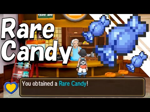 HOW TO GET Rare Candies in Pokemon Ultra Sun and Moon