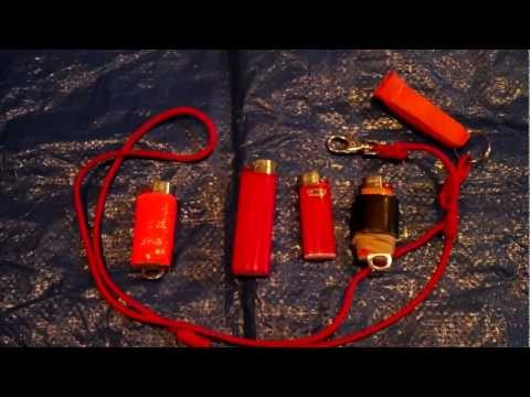 Pimp Your BIC Lighter and Create a  Better Emergency Firemaking Tool