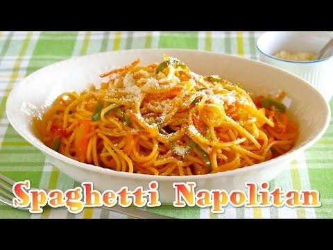 Spaghetti Napolitan (Popular Japanese Pasta Dish) スパゲッティナポリタンの作り方 - OCHIKERON - CREATE EAT HAPPY
