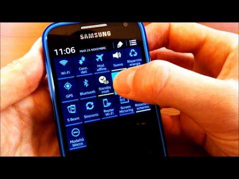 Samsung Galaxy S4 Mini, le funzioni del Pannello di Notifica