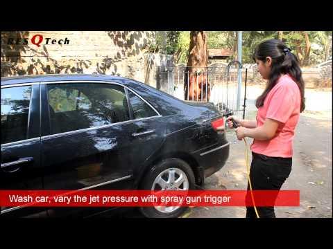 ResQTech 25 liter 12V DC Bucket Car Washer