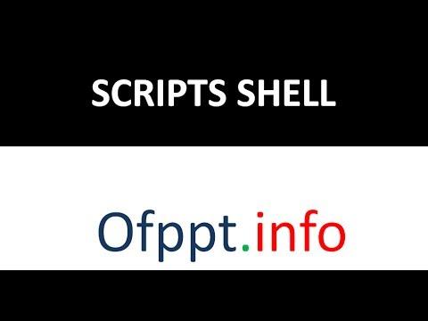 Commandes de base Linux - Ep52 - Scripts shell - partie 1