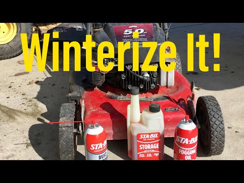 Winterize Your Mower