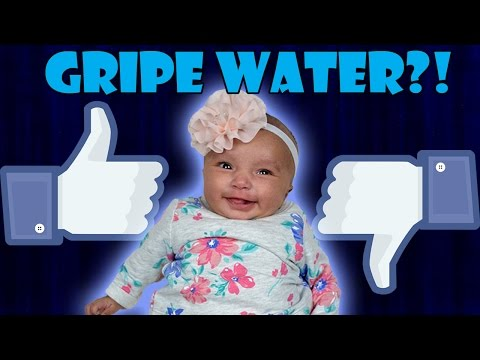 Baby Reaction to Gripe Water - Gripe Water for Babies