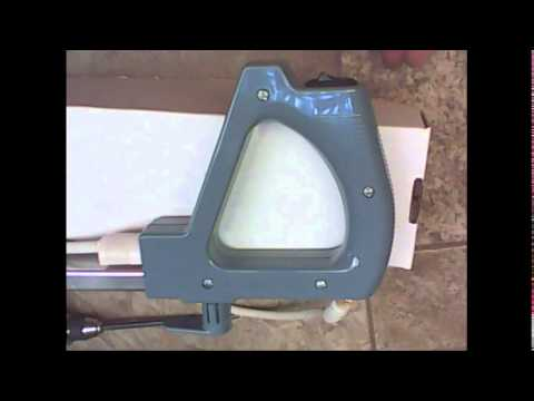 How to change a switch on an Oreck XL vacuum cleaner