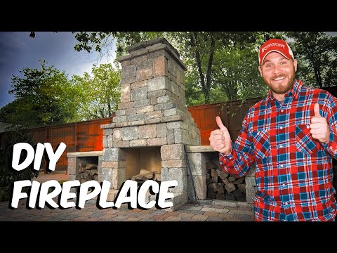 Build with Roman - How to build a Fremont DIY Outdoor Fireplace Kit