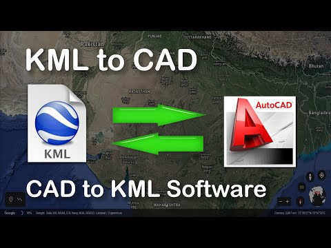 Introduction to KML to CAD Software