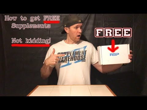 Free workout supplements! | RSP Nutrition