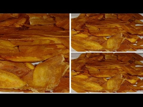 How To Make Crispy Plantain Chips