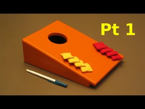 Make a Desktop Bag Toss: Build it with Few Tools - Part 1: Marking & Cutting
