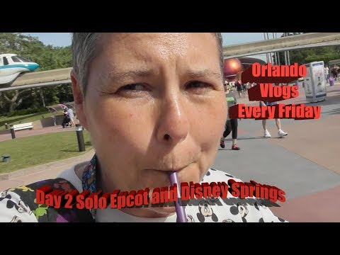 Solo day 2 Epcot and Disney Springs