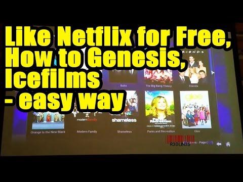 How to Use Genesis & Icefilms Free TV & Movies on XBMC/Kodi, Like Netflix