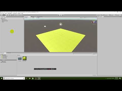 Unity 2018.2 First Person Adventure Game Tutorial 1 - Object creation & movement, navigation