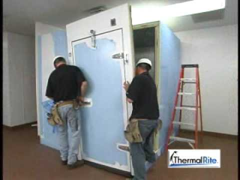 Thermalrite Walk-in Cooler Installation Video