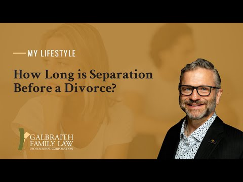 How Long Is Separation Before a Divorce