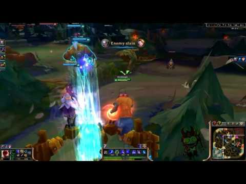 League OF Legends 3D Game Play - Funny Moments #LOL #GamePlay #3D