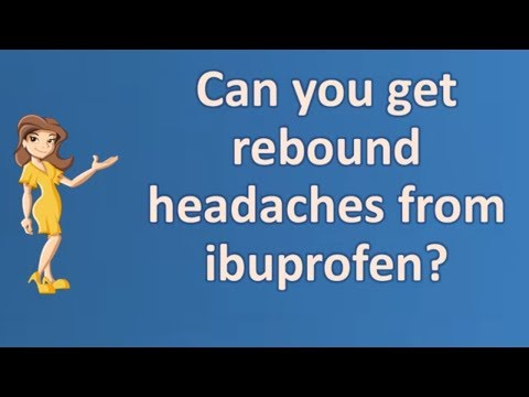 Can you get rebound headaches from ibuprofen ? | Best Health FAQ Channel