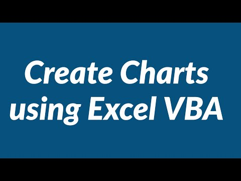 create charts using excel vba