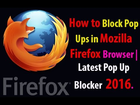 How to Block Pop Ups in Mozilla Firefox Browser.