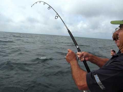 Fishing a seabream