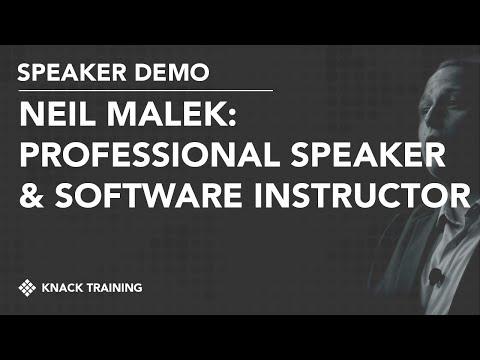 Neil Malek Speaker Reel