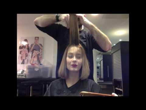 I FILMED MY NEW HAIRCUT ✂️ ALEXA CHUNG STYLE BOB