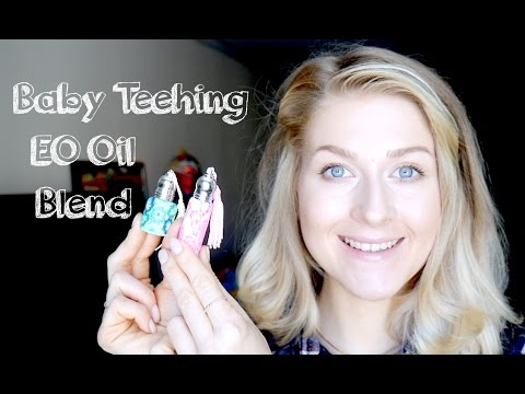 How to Help a Teething Baby with Jawline Teething Massage Oil Recipe