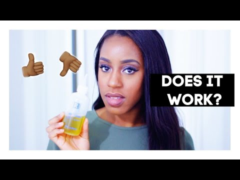 Does It Work?? Curly Proverbs DIY Hair Growth Oil | My Thougths