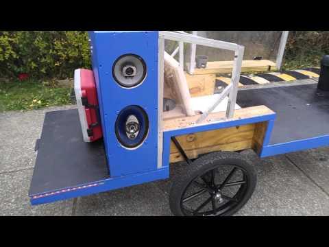 Custom built bicycle trailer please share