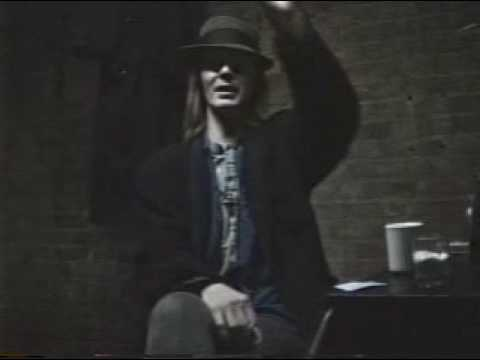 jim carroll on basketball in nyc 1/18/91 cleveland ohio