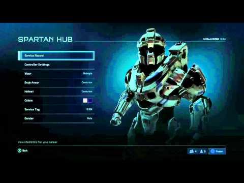 Halo 5 Beta - Centurion Armor with Midnight Visor