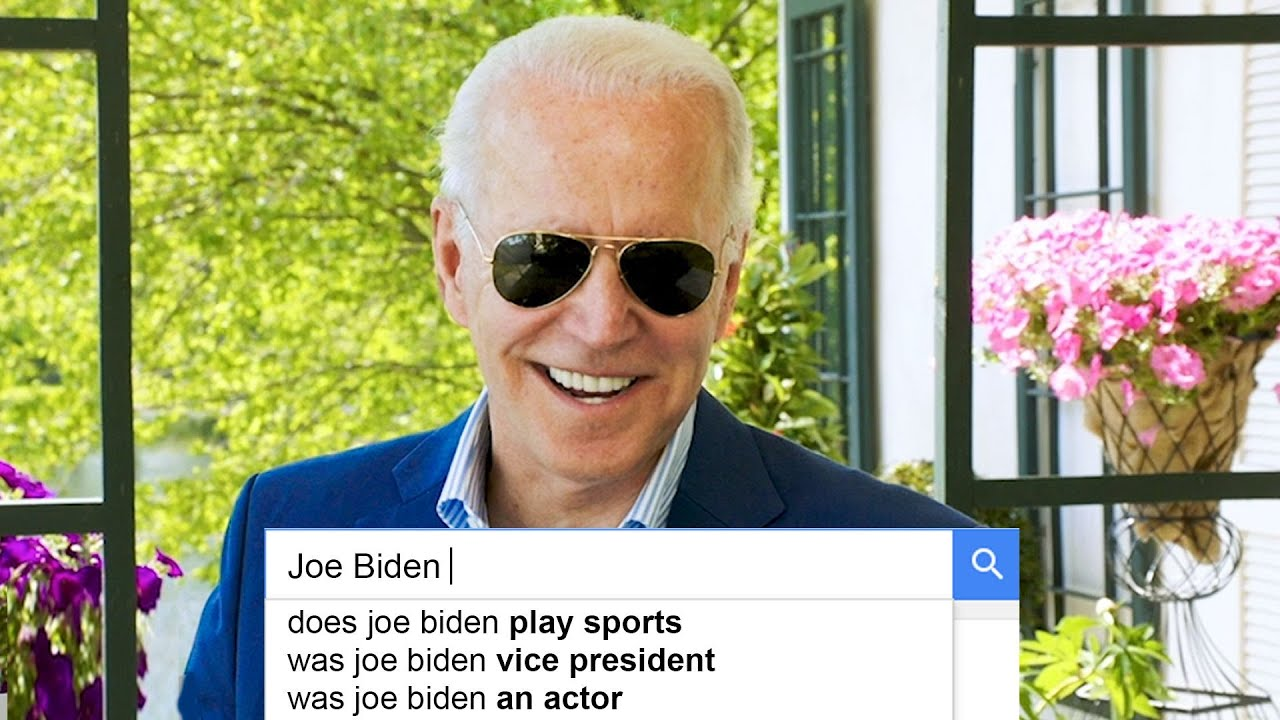 Joe Biden Answers the Web's Most Searched Questions | WIRED