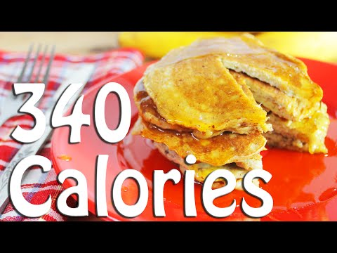 Banana Pancake Recipe, Weight Loss Recipes 340 calories
