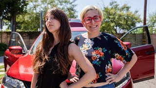 Surprising Strangers With A GAME SHOW in Our Car / Gaby & Allison