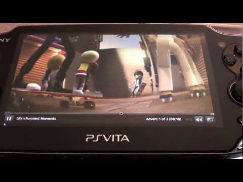How to watch TV on PS Vita (PS Vita 4oD, ITV Player) Remote Play
