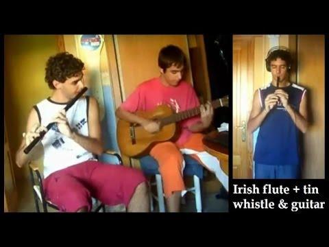 Irish Flute + Tin Whistle & Guitar