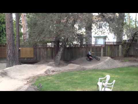 Backyard Pump Track in Norcal