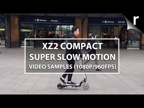 Sony Xperia XZ2 Compact super slow-motion video samples (1080p/960fps)