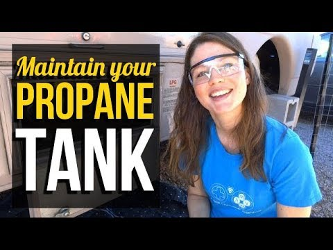 RV Living: How to clean and maintain your propane tank