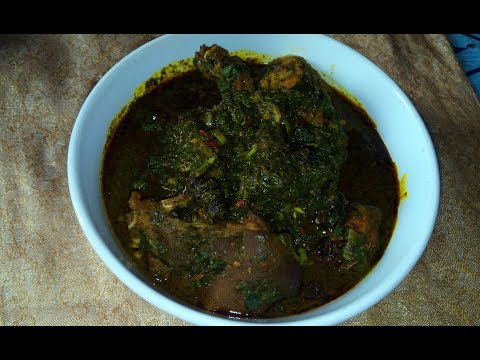 Afang Soup Recipe: How to Make Delicious afang soup