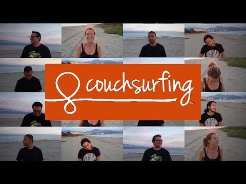 This is how i Couchsurf