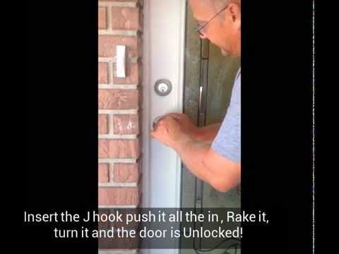Open Schlage Door Knob