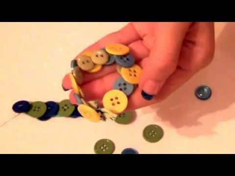 How To Make A Button Bracelet And Ring