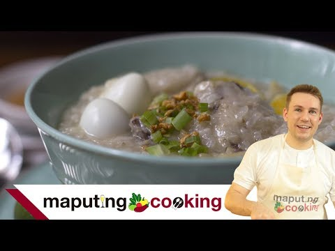Arrozcaldo Recipe | Filipino Cooking with Chris Urbano