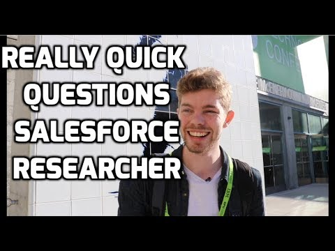 Stephen Merity - Really Quick Questions with a Salesforce Researcher
