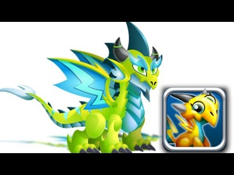 How to Get Double Electric Dragon 100% Real! Dragon City Mobile!