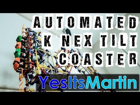Automated Tilt Coaster | K'nex