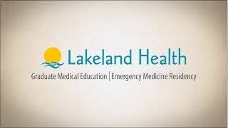 Lakeland Health Emergency Medicine Residency  2017
